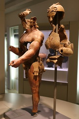 500 BC HErcules and Minerva - City of Veii - Rome Spring 2018 National Etruscan Museum at the Villa Julia. (Kevin J. Norman) Tags: italy rome etruscan villa julia giulia etrusca juliusiii veii hercules mineva