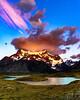Fiery sunrise ! 🔥🔥🔥 (hacenem) Tags: chile loscuernos mountains patagonia puertonatales torresdelpaine sunrise cerro paine grande