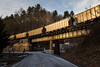 Clinchfield Coal (WillJordanPhoto) Tags: trains north carolina railroad coal csx clinchfield sunset erwin blueridgesubdivision