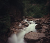 Guam Gorge (Alex Speedo) Tags: koniomega6x7 analog landscape view film river rock water gorge 6x7 mediumformat mformat mezmai wideomegon slidefilm e6 rangfinder fujifilm
