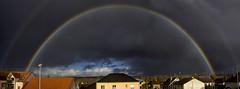 Arc-en-ciel double. Auxerre (jjcordier) Tags: arcenciel auxerre météorologie rainbow