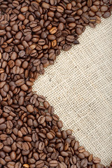 Brown roasted coffee beans. (shiftlk1) Tags: coffee beans backgrounds frame sacking hot drinks seeds cafe cloth fabric material grain espresso cappuccino chocolate latte arabica aroma clipping java rectangle drinking morning mocha caffeine beverage brown roasted black mug dark crop scented nonalcoholic foods refreshment freshness liquid ingredient heat gourmet isolated heap group tasting roast energy pattern dry ukraine