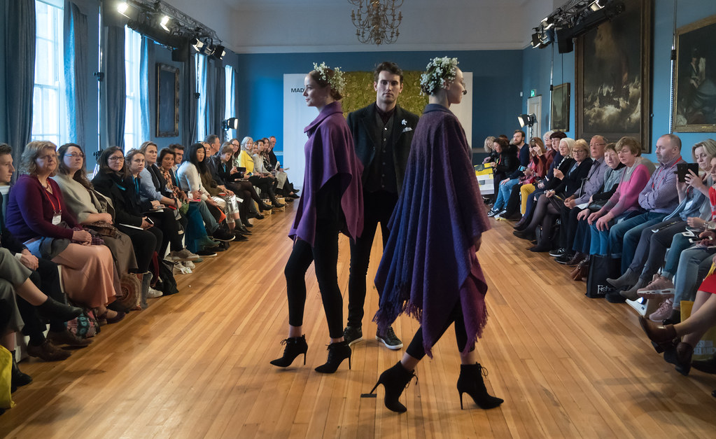 MADE-Slow PRESENTATION OF QUALITY IRISH FASHION DESIGN - STUDIO DONEGAL [FASHION SHOW AT THE RDS JANUARY 2018]-136253