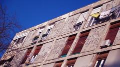 Facades of the broken society (Elvis L.) Tags: building facade sky tree poorness brokensociety zadar dalmatia croatia window laundry architecture negligence decrepitude