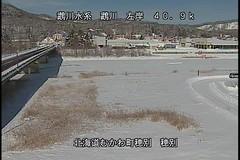 鵡川穂別観測所ライブカメラ画像. 2018/02/07 11:24 (River LiveCamera) Tags: id1299 rivercode8101060001 ym201802 鵡川 穂別観測所 ymd20180207