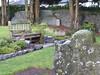 Wooden bench (seikinsou) Tags: ireland westmeath winter mullingar allsaints church anglican churchofireland garden remembrance burial urn bench churchyard flower tree