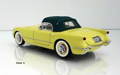 1955 Chevrolet Corvette Roadster (JCarnutz) Tags: 124scale diecast danburymint 1955 chevrolet corvette