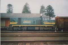 T371 Warrnambool (tommyg1994) Tags: west coast railway wcr emd b t x a s n class vline warrnambool geelong b61 b65 t369 x41 s300 s311 s302 b76 a71 pcp bz acz bs brs excursion train australia victoria freight fa pco pcj