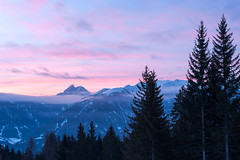 Behind a veil (auqanaj) Tags: alps alpen südtirol altoadige luson lüsen peitlerkofel sassdeputia dolomiti dolomites morgenstimmung dawn sonnenaufgang sunrise naur nature beauty