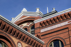 Smithsonian, Washington, DC. (dckellyphoto) Tags: smithsonian washingtondc districtofcolumbia 2018 smithsonianartsindustriesbuilding brick old angles