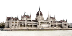 Parliament from the River Danube, Budapest (John Hallam Images) Tags: parliament river danube budapest hungary