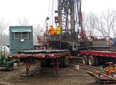 Drilling rig at VanWinkle Unit # 1 petroleum well (west of Granville, Ohio, USA) 7 (James St. John) Tags: drilling rig rigs vanwinkle van winkle unit 1 petroleum well wells oil natural gas granville ohio