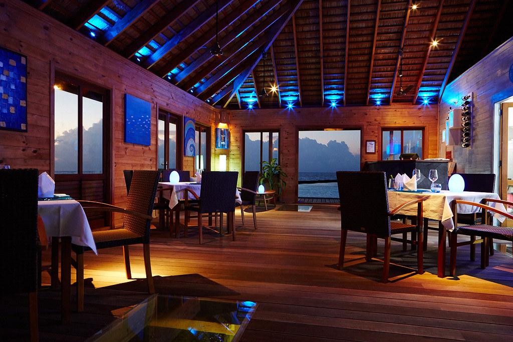 Aqua restaurant, Komandoo Resort