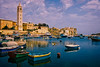 Blue Sea (MrBlueSky*) Tags: malta marsaskala sea water outdoor blue boats sky architecture travel reflection