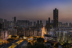 Garden Hill observatory (Hong Kong) (Gerald Ow) Tags: gardenhillobservatory 石硖尾山 深水埗 shamshuipo nightphotography goldenhour sunset geraldow sony a7rm2 a7rii fe 2470mm f28 gm gmaster hongkong 香港 ilce7rm2