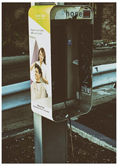 Not Worth Its Weight In Gold (swanksalot) Tags: telephone payphone abandoned chicago wickerpark tweeted dkal 2nr