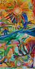 Standing Rock Sun (MattCrux) Tags: art artwork painting expression colorful artist acrylic arts artistic creative psychedelicart trippyart psyart weirdart acidtrip acidart dmt lsdtrip psychedelics psychedelia psicodelia psicodelico visionaryart paintingart acrylicart abstracto abstraction abstract abstracts