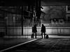 who are you ? (heinzkren) Tags: schwarzweis blackandwhite bw sw bnw street streetphotography wien vienna hauptbahnhof urban candid lines spiegelung reflection mann man human person silhouette cam