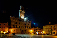 Piazza Grande - Montelpulciano, Tuscany (dejott1708) Tags: piazza grande montepulciano tuscany night shot long exposure summer evening architecture village place town hall