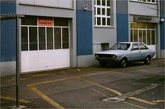 Audi 80 (B1) 2door Sedan - 1972 (OLDLENS24) Tags: audi 80 1st generation car vintage analog film 35mm old school vw nsu