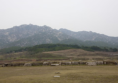 Manwoldae royal palace excavations, North Hwanghae Province, Kaesong, North Korea (Eric Lafforgue) Tags: ancient antique archaelogy archaeology archeologicsite architecture artscultureandentertainment asia copyspace day dictatorship dprk excavations famousplace gaeseong goryeodynasty history horizontal humanbeing koryoperiod landscape mountain nkorea5926 nopeople nonurbanscene northhwanghaeprovince northkorea outdoors thepast tourism traveldestinations kaesong 北朝鮮 북한 朝鮮民主主義人民共和国 조선 coreadelnorte coréedunord coréiadonorte coreiadonorte 조선민주주의인민공화국 เกาหลีเหนือ קוריאההצפונית koreapółnocna koreautara kuzeykore nordkorea північнакорея севернакореја севернакорея severníkorea βόρειακορέα