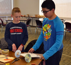 College of DuPage Engineering Club Hosts STEM Learning Event for Homeschoolers 2018 18 (COD Newsroom) Tags: collegeofduipage cod engineering engineeringclub homeschool stem science technology math campus glenellyn illinois il berginstructionalcenter college communitycollege education highereducation biotechnology chemicalengineering computerscience robotics computer dupage dupagecounty