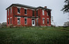 (Rodney Harvey) Tags: abandoned brick house missouri red rural decay