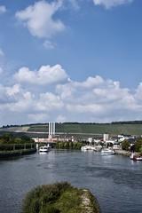 Riverview (archigeo12) Tags: river bridge fluss brücke travel würzburg germany nikon d1x september