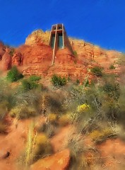 Chapel of the Holy Cross... (Sherrianne100) Tags: chapeloftheholycross chapel sedonaarizona sedona arizona hss