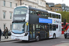 Go-Ahead London General WHV118 BV66VHW (Will Swain) Tags: hyde park corner 28th october 2017 greater london capital city south east bus buses transport travel uk britain vehicle vehicles county country england english goahead general whv118 bv66vhw