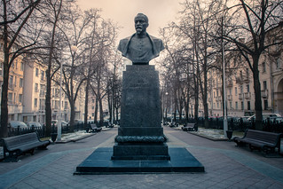 Statue of KGB founder Felix Dzerzhinsky