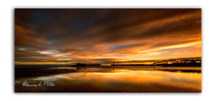 A Fine Start (RonnieLMills) Tags: sunrise dawn early morning low tide water reflections clouds warm light donaghadee harbour lighthouse county down northern ireland