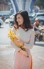 Phuong 4 (Lê Đình Tuấn) Tags: ldt lđt photo chân dung portraiture áo dài ao dai tết xuân