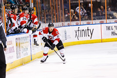 "Kansas City Mavericks vs. Cincinnati Cyclones, February 3, 2018, Silverstein Eye Centers Arena, Independence, Missouri.  Photo: © John Howe / Howe Creative Photography, all rights reserved 2018. • <a style=""font-size:0.8em;"" href=""http://www.flickr.com/photos/134016632@N02/39407448414/"" target=""_blank"">View on Flickr</a>"