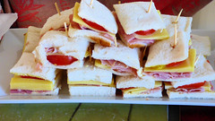 Mother's Day 2017 (Sandy Austin) Tags: panasoniclumixdmcfz70 sandyaustin gleneden westauckland auckland northisland newzealand food homemade ham tomato cheese bread sandwiches
