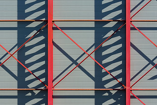 Red construction and shadowplay