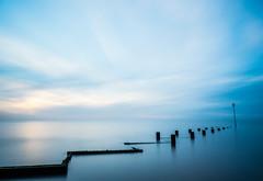 Blue Hour (Nigel Wallace1) Tags: blue bluesky bluehour sunset longexposure horizon exploring coast coastal sea seascape sky dramaticsky bigsky clouds cloudscape leefilters olympus olympusuk 1240mm pro norfolk england uk landscape water