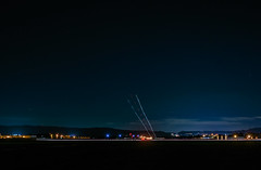 east bay arrival (pbo31) Tags: livermore california eastbay alamedacounty nikon d810 color black dark night boury pbo31 lightstream motion traffic lvk airport runway landing municipal aviation arrival local plane flight school lights flying infinity 2018 winter