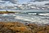 Tempi lenti alla Baia delle Orte (diegozizzari) Tags: otranto mare onde cielo colori panorama scogli scogliera nuvole lecce orte palascia salento
