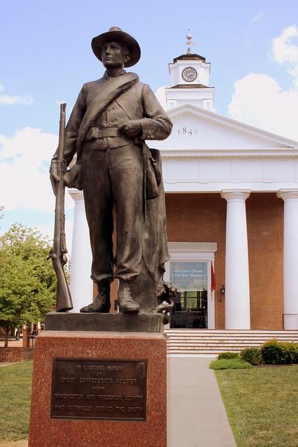 1916 Confederate Statue - Winchester, VA