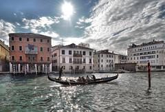 venice corners (poludziber1) Tags: street streetphotography skyline sky sea city colorful cityscape color colorfull clouds water venice venezia urban travel italia italy light people boat