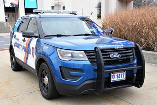 Westchester County Car 1477 - 2016 Or 2017 Ford Explorer Police Interceptor Utility 021718 1