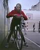 Aleksandra (dmitriy.marichev) Tags: mamiya7ii mamiya7 mamiyan654 67 fujifilmfujicolorpro400hprofessionalcolornegativefilm 400 120 65mm film fujifilm negative color kiev ukraine lady girl portrait face bicycle