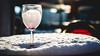 Cheers (Sean Batten) Tags: london england unitedkingdom gb docklands canarywharf eastlondon snow city urban nikon df 50mm glass drink table