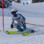 2018 Tyee Cup - Brooke Irish (Grouse Tyee) in the Ladies' Slalom PHOTO CREDIT: Chris Naas