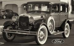 1929 Ford Model A Fordor (Pat Durkin OC) Tags: 1929ford modela fordor sedan wirewheels whitewalltires original unmodified stock