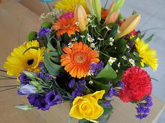 bouquet of flowers (Gerard Koopman) Tags: bouquet flowers