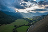 View from Opi (nicola.bonanno) Tags: abruzzo country italy travel clouds rays sun sunset rainbow