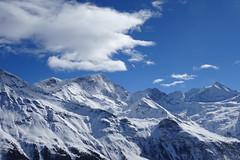 Cloud (corinne emery) Tags: zinal montagne mountain exterieur suisse swiss valais wallis bleu ciel paysage neige