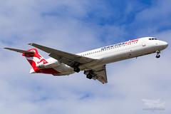 VH-NXJ QLK B717 16R YSSY-2313 (A u s s i e P o m m) Tags: saintpeters newsouthwales australia au qantas qf qantaslink qlk qjet boeing b717 syd yssy sydneyairport
